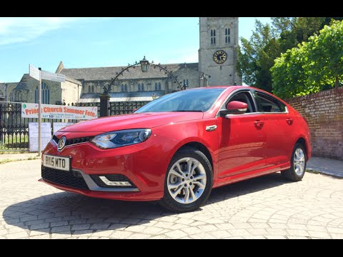2015 MG6 Review - Inside Lane