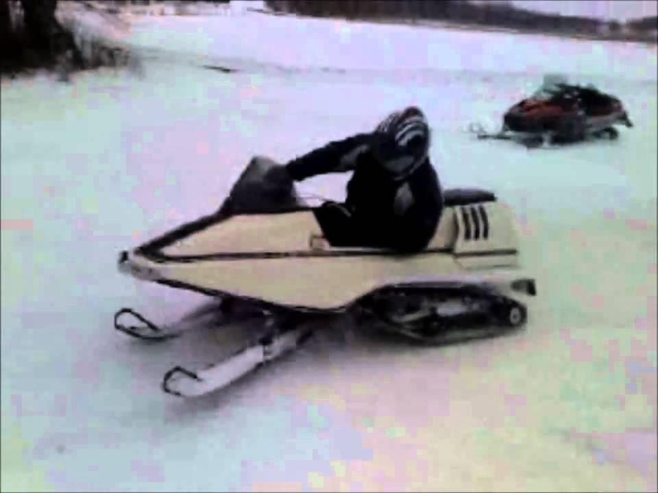 Vintage ski doo track drive parts with