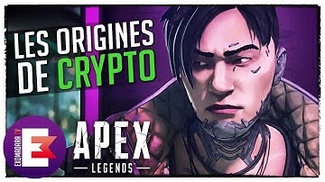 LES ORIGINES DE CRYPTO, SON HISTOIRE | Apex Legends Lore FR