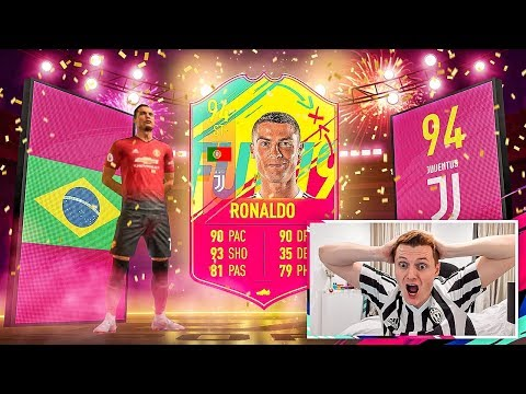 OMFG RONALDO IN A PACK!!! 2X CARNIBALL PLAYERS & AN ICON IN A FIFA 19 PACK OPENING 🔥
