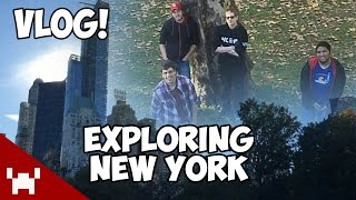 The Creatures and The Derp Crew Explore New York! (Random Vlog Footage)