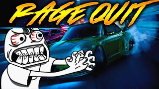 Need For Speed Rage Quit