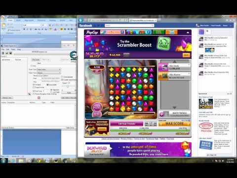Bejeweled Blitz Speed Hack (Facebook) With Cheat Engine