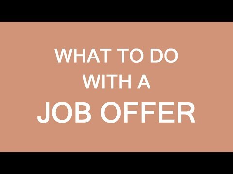 What To Do With A Job Offer, How To Immigrate To Canada. LP Group