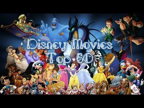 Disney Movies top 50