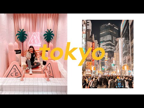 Tokyo Japan Travel Guide ✨Pt 1✨Shopping In Harajuku + Where To Eat Food Tour