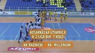 "KK ""RADNIČKI"" (LUKAVAC) -  KK ""MILLENIUM"" (ŽIVINICE)    81 : 72"