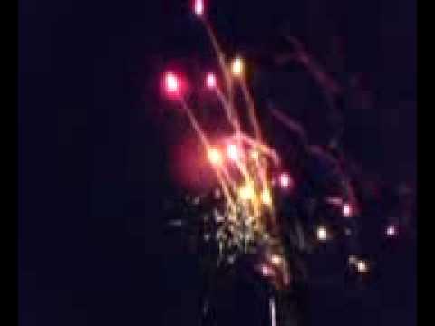 Feuerwerk Silvester 2008/2009 im Wiener...
