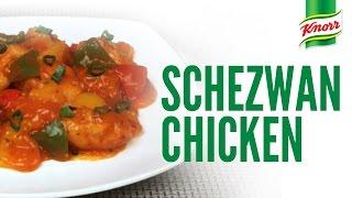 Schezwan Chicken Recipe By Knorr