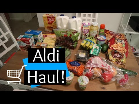 Aldi Grocery Haul & Meal Plan!