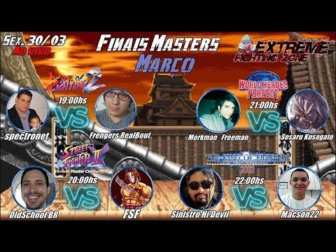 Live Finais Master Marco Art Of Fighting 2 Super Street Fighter 2x World Heroes Perfect E Kof 2002 Youtube