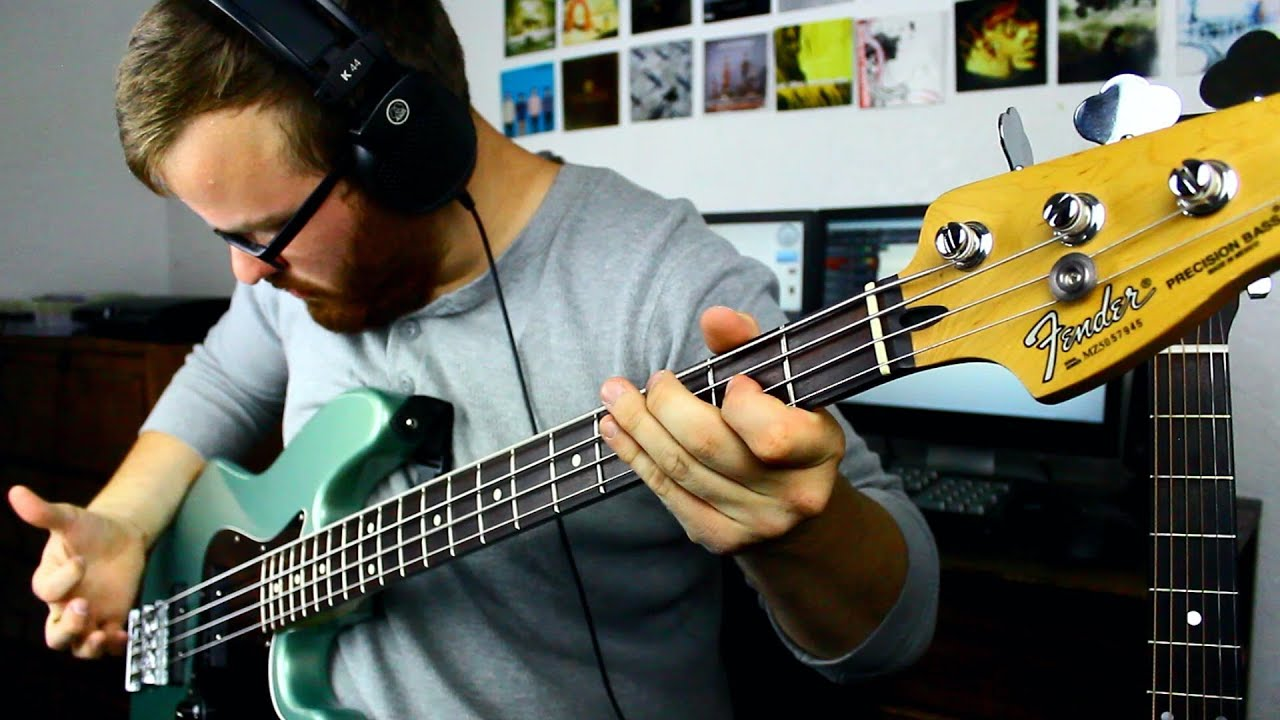 MIM Fender Jazz Bass W SD Basslines Demo