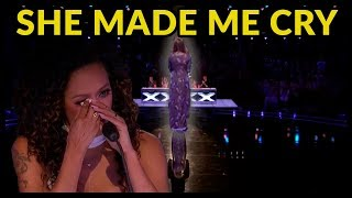 "Top 3 VERY EMOTIONAL ""JUDGES START TO CRY"" AUDITIONS on AMERICA'S GOT TALENT!"