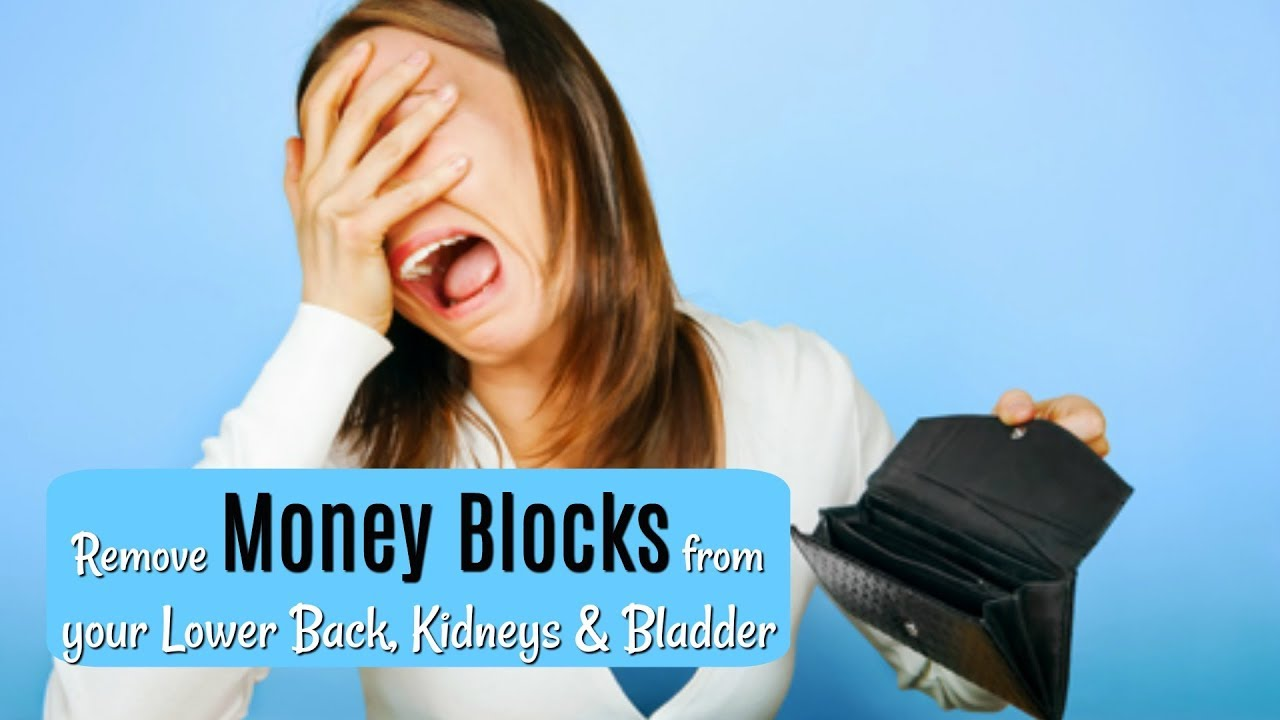 Money Karma Lower Back Pain Remove Money Blocks In Your Kidneys