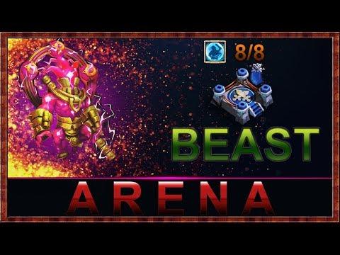 Storm Eater  MURDERING | Arena | |8/8 Bulwark | CASTLE CLASH |