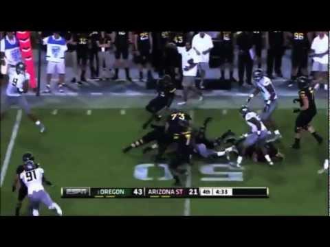 Oregon Ducks Football Highlights 2012-2013