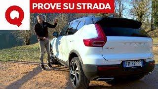 Volvo XC40: la prova su strada | Quattroruote