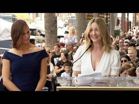 Judy Greer Speech at Jennifer Garner's Hollywood Walk of Fame Star Unveiling
