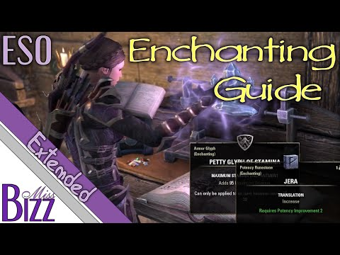 ESO Enchanting Guide - Extended - How to Make Glyphs in Elder Scrolls Online