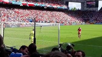 Elfmeterschießen Schweiz vs. Polen