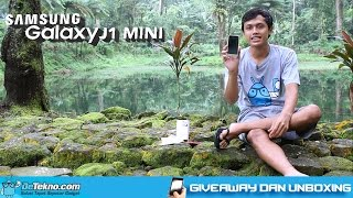 Unboxing Samsung Galaxy J1 Mini Dan Giveaway