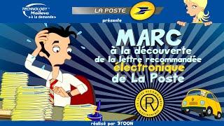 Saga La Poste/Maileva - épisode 4 - Marc à la découverte de la Lettre Recommandée...