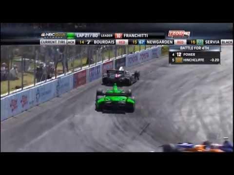 IndyCar 2013: Round 3 Long Beach [Full Race]