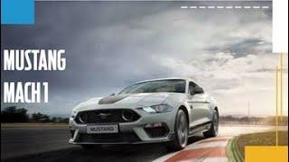 Mustang Mach 1: ícone de performance com edição limitada