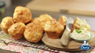 Savoury Bacon And Spring Onion Muffins