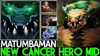 MATUMBAMAN [Underlord] New Cancer Hero Mid Insane Damage Build 7.23 Dota 2