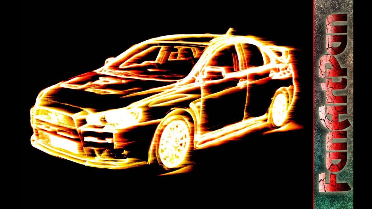 УРОКИ ФОТОШОПА. Огненный фотоэффект. Обработка фотографий в фотошопе - эффект огня.