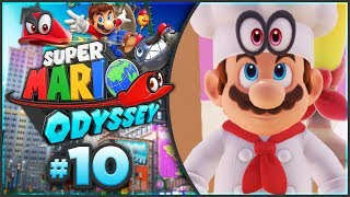 Super Mario Odyssey - Luncheon Kingdom 100% Walkthrough! [Part 10]