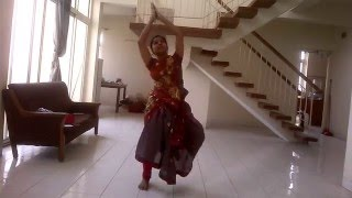 Classical Dance on Hey Ganaraya  ABCD2  Sravya Prudhvi