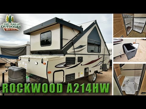 New Pop Up Camper RV 2018 ROCKWOOD A214HW Colorado Dealer