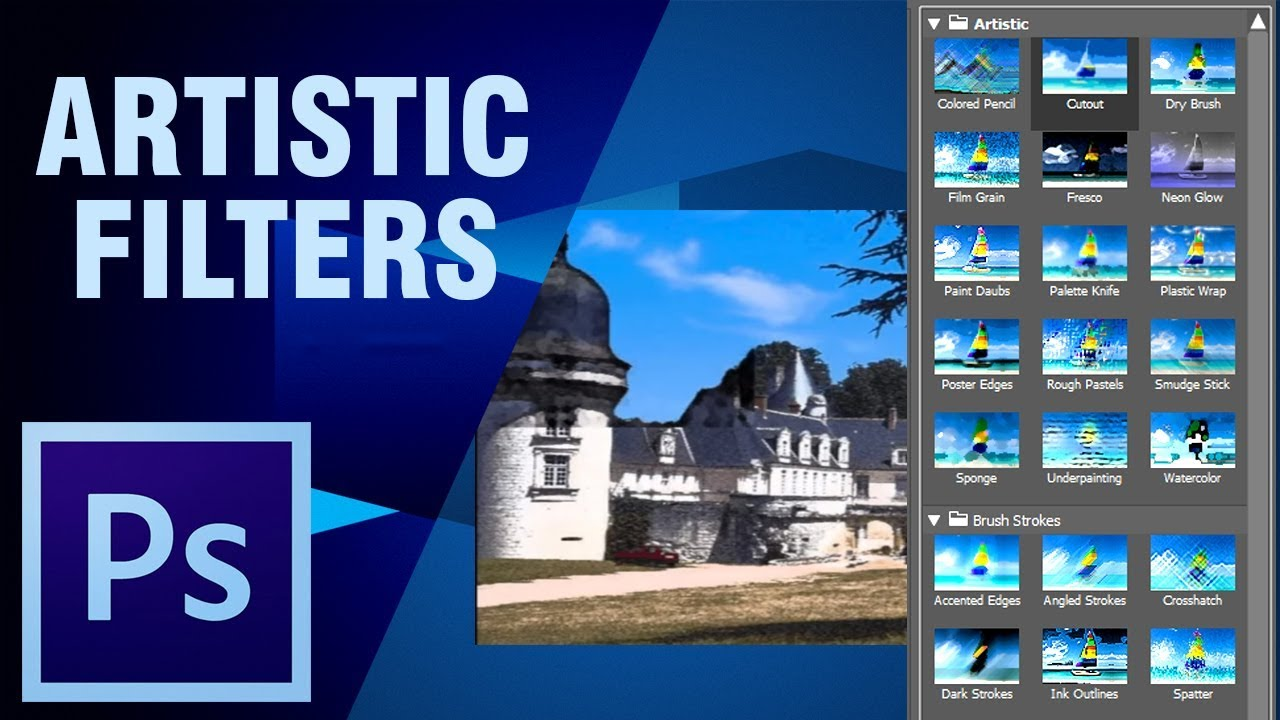 Photoshop Tutorial | Learn About Artistic Filters In Photoshop | Digital  Teacher