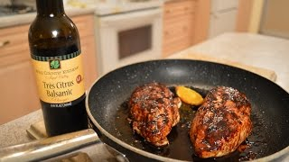 How To Cook Napa Valley Tres Citrus Balsamic Chicken Breasts: Cooking With Kimberly