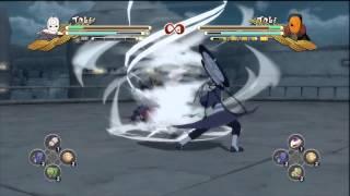 Naruto Shippuden: Ult. Ninja Storm 3 - Tobi (White Mask) VS. Tobi (Orange Mask) (Super Hard) (HD)