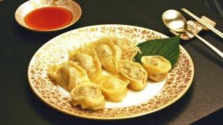 Dumplings Recipe (beef, Pork & Kimchi With Vegetarian Option) 고기 만두 -  Crazy Korean Cooking