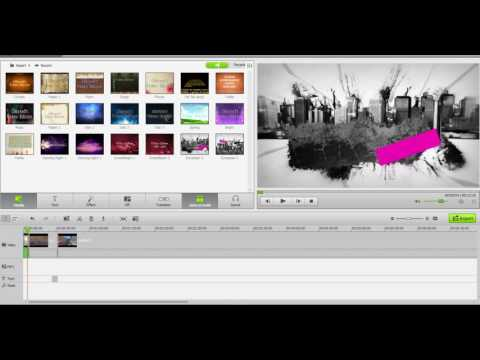 Debut Video Capture Software and Iskysoft video editor tutorial