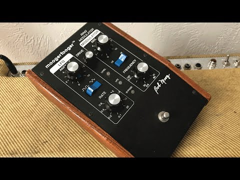 Other Uses For Your MOOG MF 102 - Tremolo, Overdrive