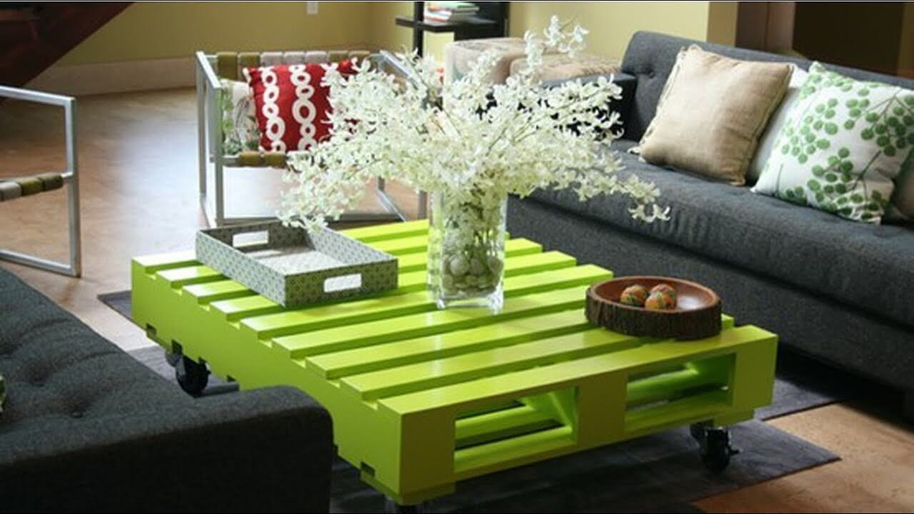 Pallet home decor images