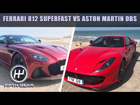 FERRARI 812 SUPERFAST VS ASTON MARTIN DBS | FIFTH GEAR