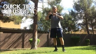Quick Tips on How to Use a Reflex Ball for Boxing/ Striking
