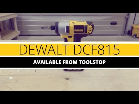 DeWALT DCF815 XR Impact Driver from Toolstop