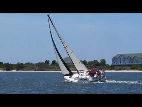 Sirius sailing on Cape Fear