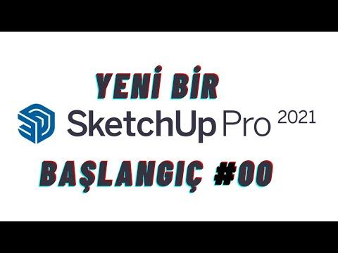 Sketchup 2021 Temelleri Başlangıç Serisi