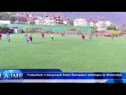 Futbollisti ri kërcovarë Albin Ramadani shkëen te Shkëndija