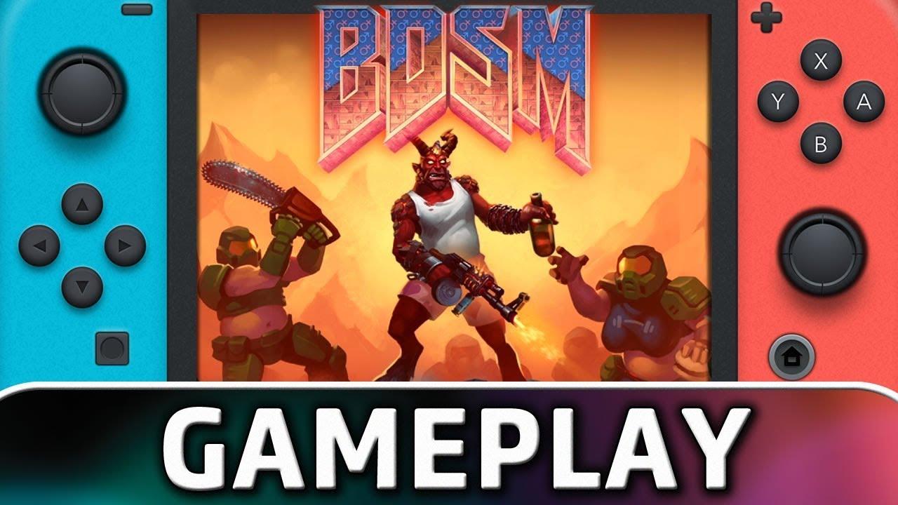 BDSM: Big Drunk Satanic Massacre | First 10 Minutes on Nintendo Switch