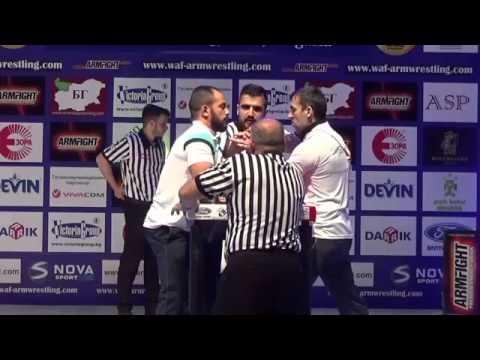 Engin Terzi & Ferit Osmanlı armwrestling