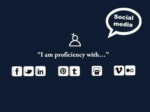 Video resume for social media internship